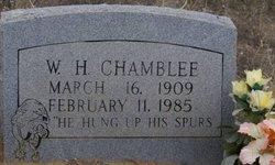 """W H """"Bill"""" Chamblee"""