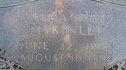 Velma Anne <I>Barnett</I> McKinley