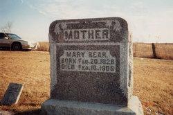 Mary <I>Rupely</I> Bear