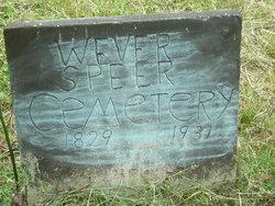 Wever Speer Cemetery