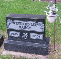 Nancy <I>Weydert</I> Lee