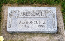 Alphonsus George Krebsbach