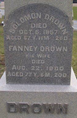 Fanny <I>Dennis</I> Drown