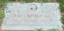 Lora <I>Burns</I> Ball