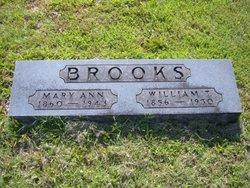 Mary Ann <I>Gardner</I> Brooks