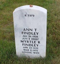 Myrtle Ruth <I>Scheppat</I> Findley