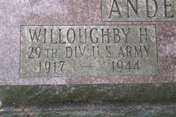 2LT Willoughby H Anderson