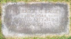 PFC Frederick C Bailey