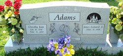 """Dorothy Jean """"Dot"""" <I>Chapple</I> Adams"""