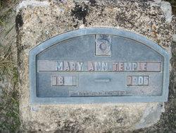 Mary Ann <I>Kody</I> Temple