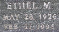 Ethel M. Behm