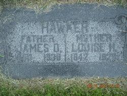 Harriet Louise <I>Webb</I> Hawker