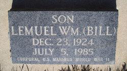 "Lemuel William ""Bill"" Redd"