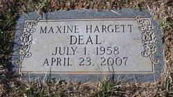 Maxine Delores <I>Hargett</I> Deal