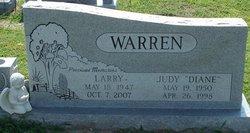 Judy Dianne <I>Nash</I> Warren