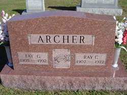 Fay Greathouse <I>Rhodes</I> Archer