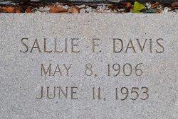 Sallie F Davis