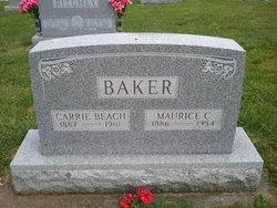 Carrie <I>Beach</I> Baker