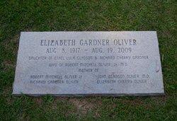 Elizabeth Baker <I>Gardner</I> Oliver
