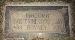 Catherine Jane <I>Cottam</I> Romney