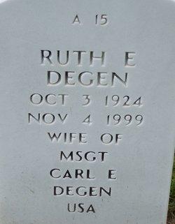 Ruth E Degen