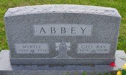 Myrtle <I>Smith</I> Abbey