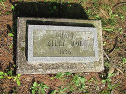 Infant Son Billy Roe