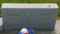 Lieut Homer C. Blackburn