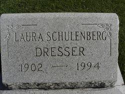 Laura A <I>Schulenberg</I> Dresser