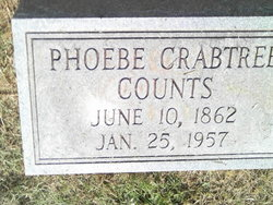 Phoebe <I>Crabtree</I> Counts