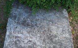 Maude Lamb <I>Williams</I> Brewer