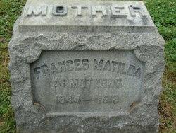 "Frances Matilda ""Fannie"" <I>Karr</I> Armstrong"