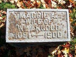 "Margaret Arebell ""Maggie"" <I>Burley</I> Angood"