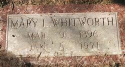 Mary Lela <I>Gregory</I> Whitworth