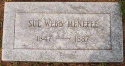Susanna <I>Webb</I> Menefee