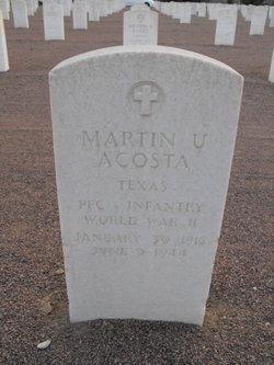 PFC Martin Uribe Acosta