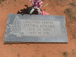 Ozona Adkins