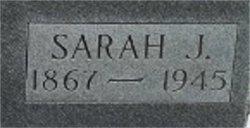Sarah J <I>Hathaway</I> Aud