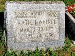 "Katherine Irene ""Katie"" <I>Barthel</I> Weikel"