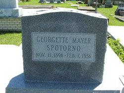 Georgette Mary <I>Mayer</I> Spotorno