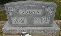 Patsy <I>Bridger</I> Bogan
