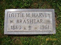 Lottie M. <I>Harvey</I> Brashear