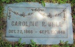 Caroline <I>Richards</I> Bell