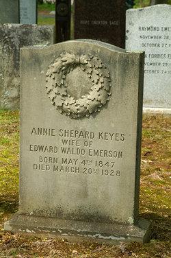 Annie Shepard <I>Keyes</I> Emerson