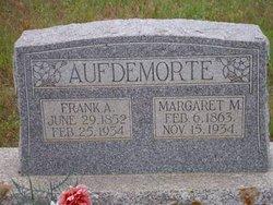 Margaret M Aufdemorte