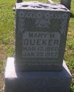 Mary M. Helena <I>Buss</I> Dueker