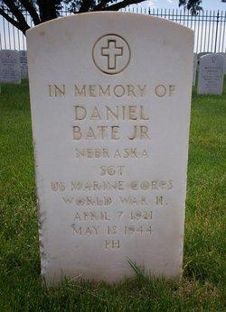 Sgt Daniel Bate, Jr