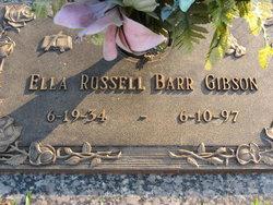 Ella <I>Russell</I> Gibson