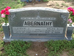 Johnie J Abernathy
