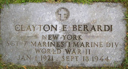 Sgt Clayton Eugene Berardi